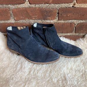 Paul Green Logan Booties Suede Leather